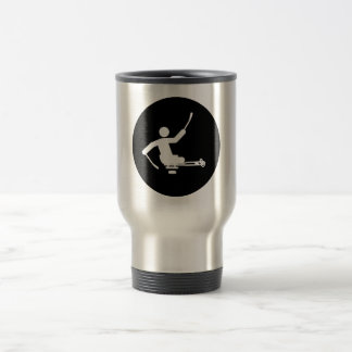 Physically Challenged Sled Hockey Coffee Mugs