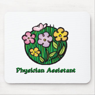 Physician Assistant Blooms Mouse Pad