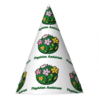 Physician Assistant - Blooms Party Hat