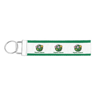 Physician Assistant - Blooms Wrist Keychain
