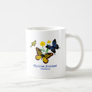 Physician Assistant Butterfly Coffee Mug