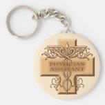 Physician Assistant Caduceus Key Chains