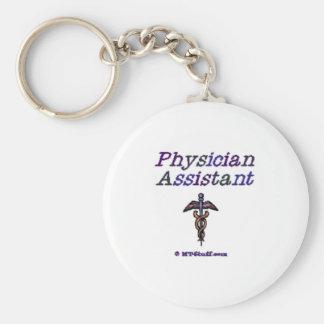 Physician Assistant - Caduceus Key Chains