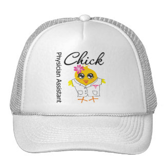 Physician Assistant Chick v2 Hats