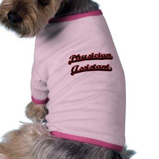 Physician Assistant Classic Job Design Pet Shirt