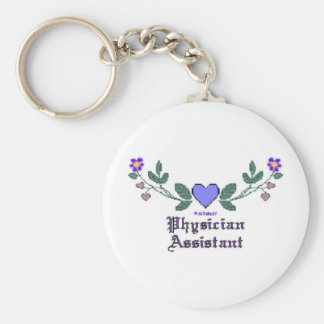Physician Assistant Cross Stitch Key Chains