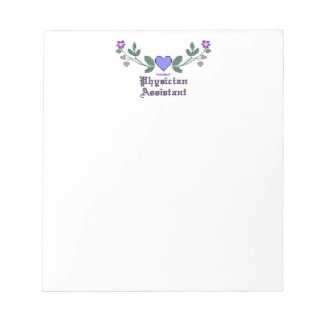 Physician Assistant CS Note Pads
