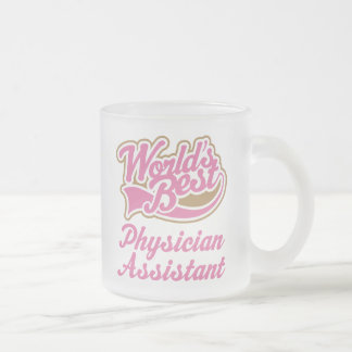 Physician Assistant Gift Frosted Glass Coffee Mug