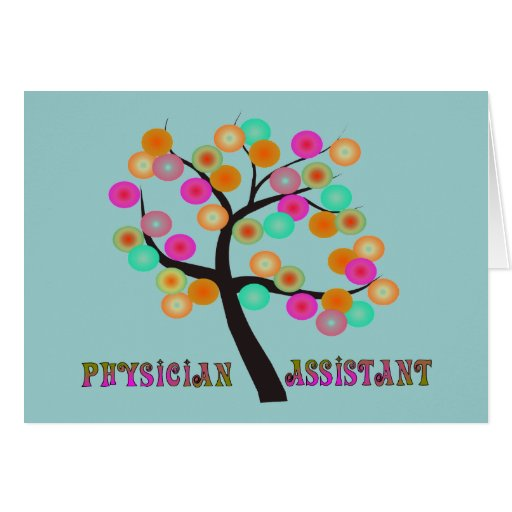 Physician Assistant Gifts Greeting Card
