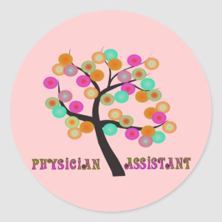 Physician Assistant Gifts Classic Round Sticker