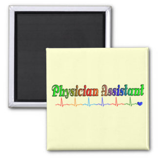 Physician Assistant Gifts T-Shirts and More 2 Inch Square Magnet