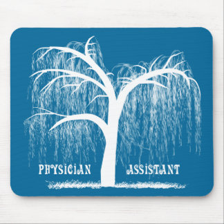 Physician Assistant Gifts Weeping Willow Tree Mouse Pad