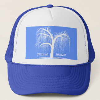 Physician Assistant Gifts Weeping Willow Tree Trucker Hat