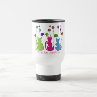 Physician Assistant Gifts Whimsical Cats Design Travel Mug