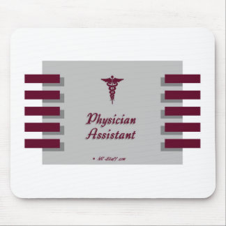Physician Assistant Gray Mouse Mat