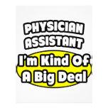 Physician Assistant = Kind of a Big Deal Custom Letterhead
