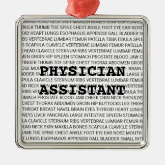 Physician Assistant Medical Terminology Christmas Metal Ornament