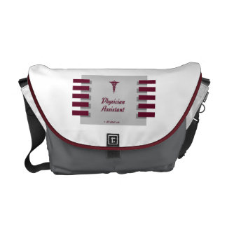 Physician Assistant MG Caduceus Courier Bag