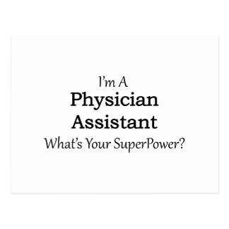 Physician Assistant Postcard