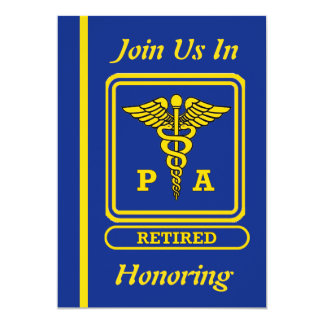 Physician Assistant Retirement Invitation