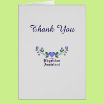 Physician Assistant Thank You Card