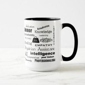 Physician Assistant-Word Cloud/Black Mug