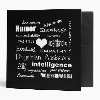 Physician Assistant-Word Cloud/Personalize Binder