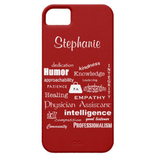 Physician Assistant-Word Cloud/Personalize Name iPhone SE/5/5s Case