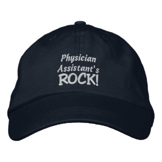 Physician Assistant's Rock! Embroidered Baseball Hat