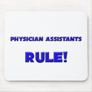 Physician Assistants Rule Mouse Pad