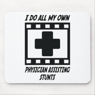 Physician Assisting Stunts Mouse Pad