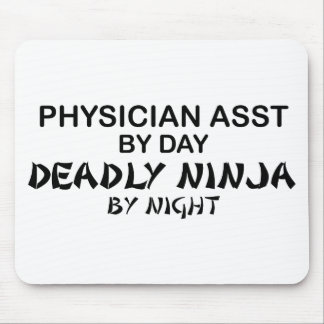 Physician Asst Deadly Ninja Mouse Pad