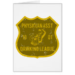 Physician Asst Drinking League Card