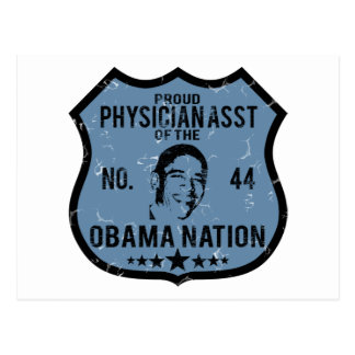 Physician Asst Obama Nation Post Card
