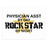 Physician Asst Rock Star by Night Post Cards