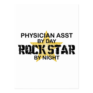 Physician Asst Rock Star by Night Postcards