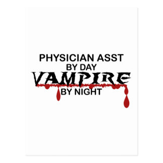Physician Asst Vampire by Night Postcards