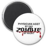 Physician Asst Zombie Fridge Magnet
