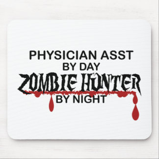 Physician Asst Zombie Hunter Mouse Pads