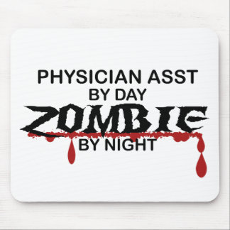 Physician Asst Zombie Mouse Pad