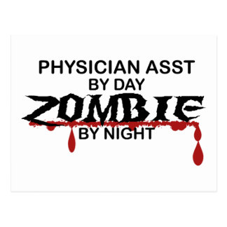 Physician Asst Zombie Post Cards