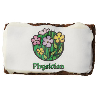 Physician Blooms Treats Brownie