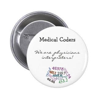 Physician Interpreters Pinback Button