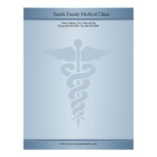 Medical letterhead zazzle physician medical doctor letterhead altavistaventures Images