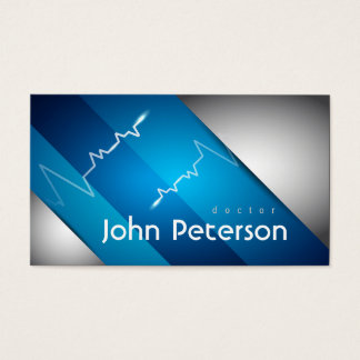 Physician Medical Doctor Practice Cardiologist Business Card