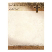 Physician Medical Doctor Practice Christian Symbol Letterhead