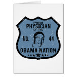 Physician Obama Nation Greeting Cards