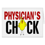 PHYSICIAN 'S CHICK GREETING CARDS