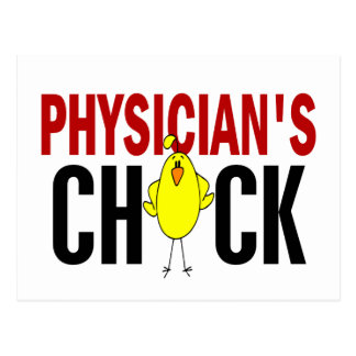 PHYSICIAN 'S CHICK POSTCARD