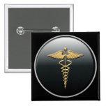 Physician Symbol Button